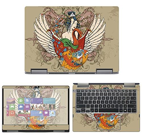 protective decal tattoo skin sticker for dell