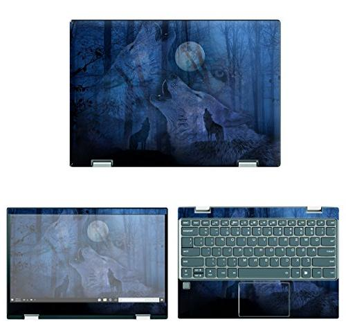 protective decal wolves skin sticker for lenovo