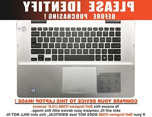 Floral Sticker Dell i7586 7586 Cover DEinspiron15_I7586-15