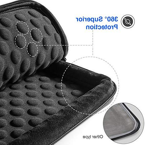 """tomtoc Protective Inch Laptop with Book 13.5"""" Laptop, CornerArmor Patent & Pocket"""