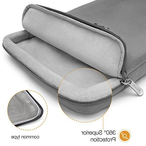 tomtoc 14 Laptop Sleeve Notebook for Lenovo Thinkpad | HP | New Pro Touch A1707, Bag, Support 13.75