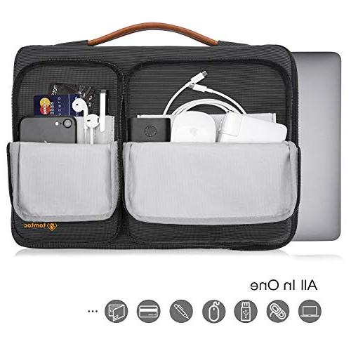 tomtoc Case Sleeve with 15-15.6 Inch Aspire E and HP Thinkpad Notebooks Spill-Resistant, Support up