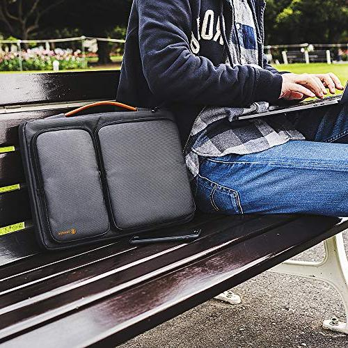 tomtoc 360° Case with 15-15.6 Inch Aspire HP Dell Notebooks Spill-Resistant, Support up to 15.2 10.4