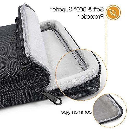 tomtoc Laptop Case Sleeve with 15-15.6 Inch Aspire E 15 Notebooks Ultrabooks, Support up to 10.4 in