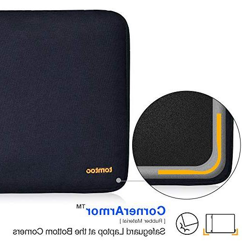 """tomtoc 360° Protective Inch Laptop Sleeve Compatible with Microsoft Book 13.5"""" Surface Laptop, &"""