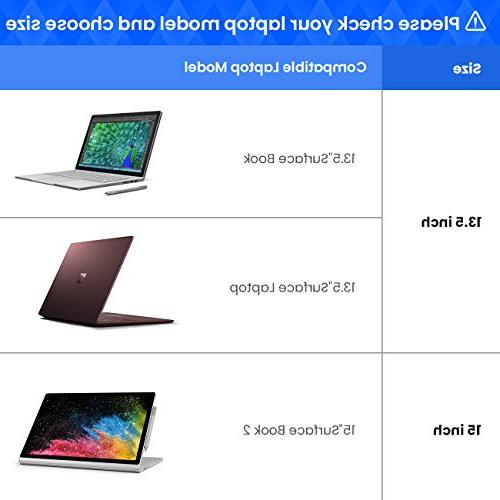 """tomtoc Protective Inch Laptop with 13.5"""" Surface Laptop, with &"""