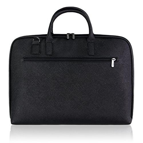 Arvok Handle & Strap Water-Resistant Briefcase Carrying