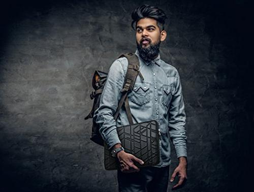 PU Slow-recovery Shockproof & Water-resistant Sleeve Case Tablet Bag Black