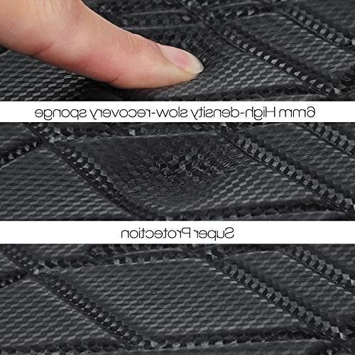 TOMANTEK 15-15.6 PU Slow-recovery Sleeve Case Bag/Ultrabook Tablet Case/Skin Cover, Black