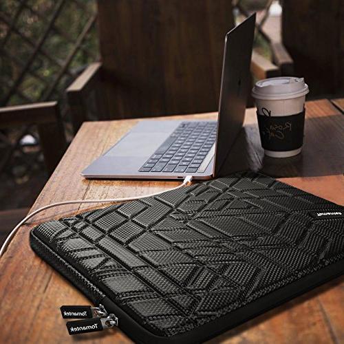 PU Sponge Shockproof Laptop Sleeve Case Bag/Ultrabook Laptop Tablet Bag Black