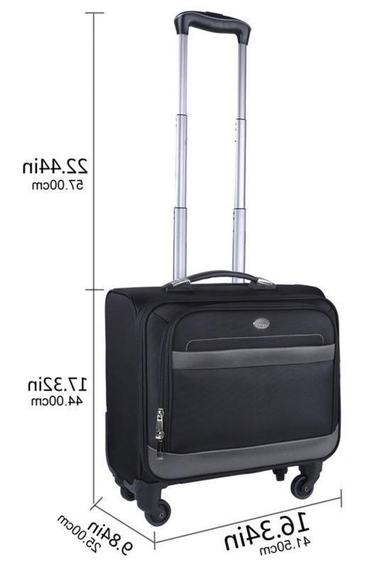 Rolling Bag Wheeled Case Travel Carry
