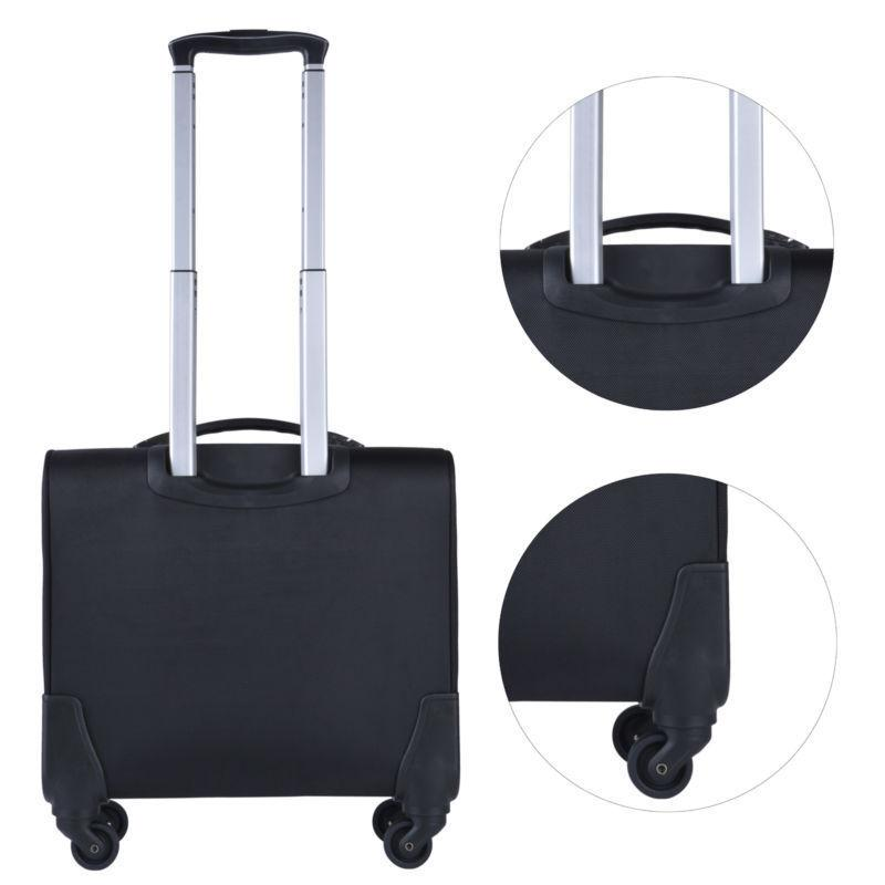Rolling Laptop Bag Wheeled Case Travel Carry