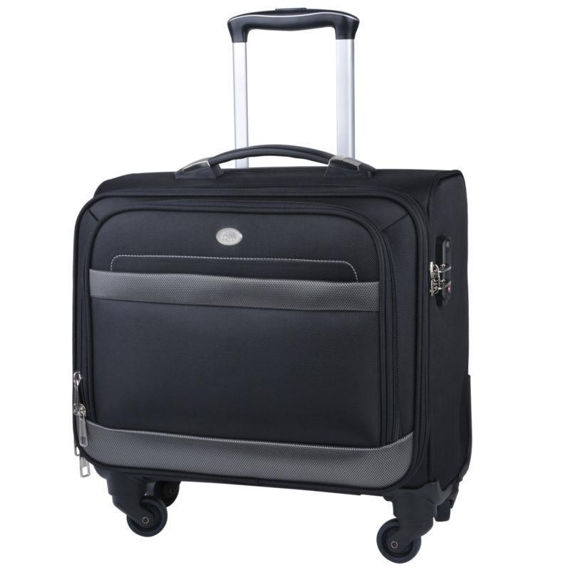 rolling briefcase laptop bag wheeled case laptop