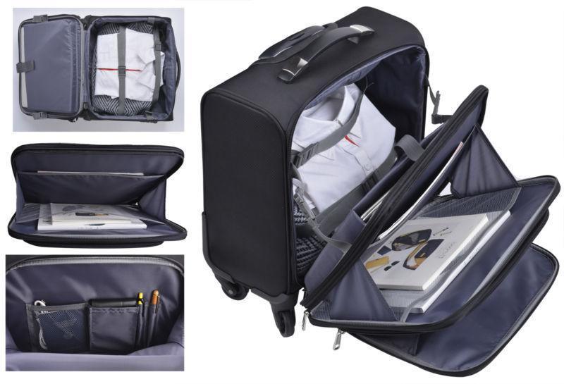 Rolling Laptop Bag Case Travel Carry