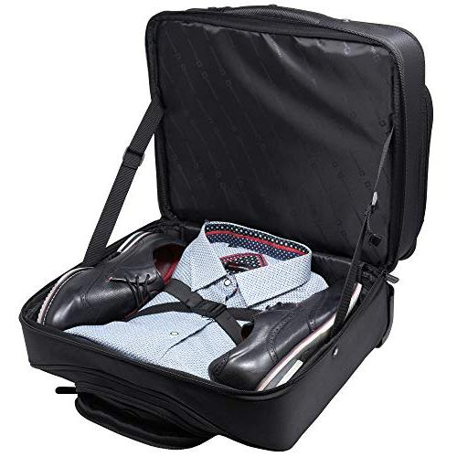 Briefcase Wheeled Carry on Up 15.6 Notebook - Carries Legal Size