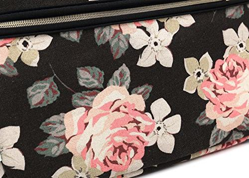 kayond Rose Canvas Fabric Bag