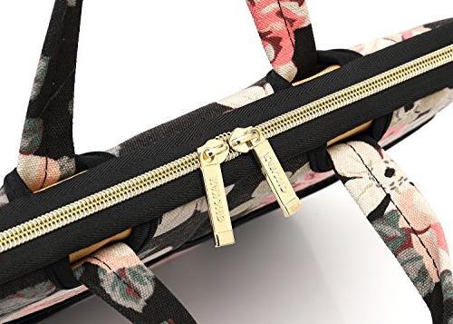 kayond Black Fabric 14.1 Shoulder Bag