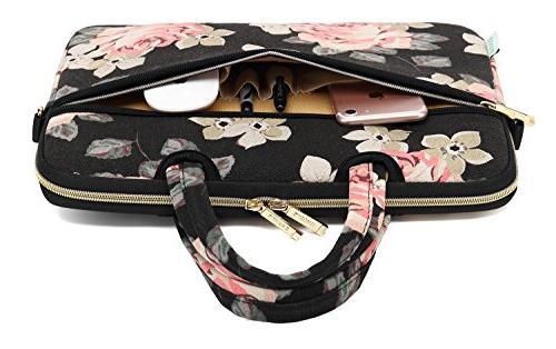 kayond Black Fabric inch Shoulder Bag