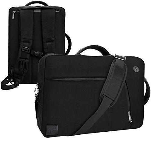 slate black convertible laptop bag