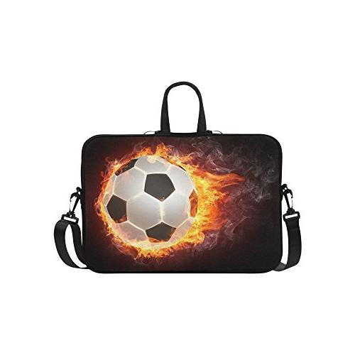 soccer ball laptop sleeve case