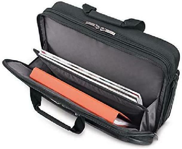 Solo Laptop Briefcase, Black/Grey