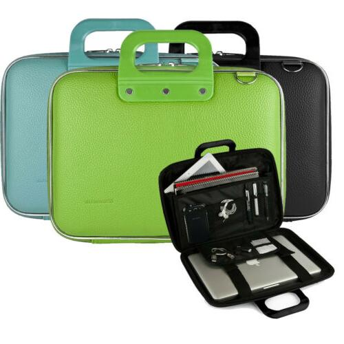 "SumacLife 15.6"" Computer Handle Bag Case Laptop Messenger Po"