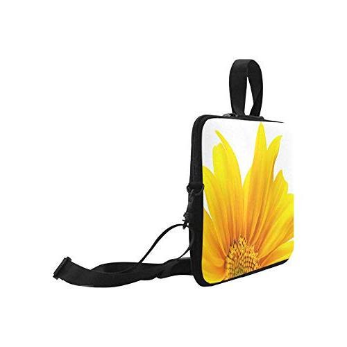 InterestPrint Modern Yellow Waterproof Neoprene 17 Laptop Bag Strap Dell Thinkpad Acer Tablet