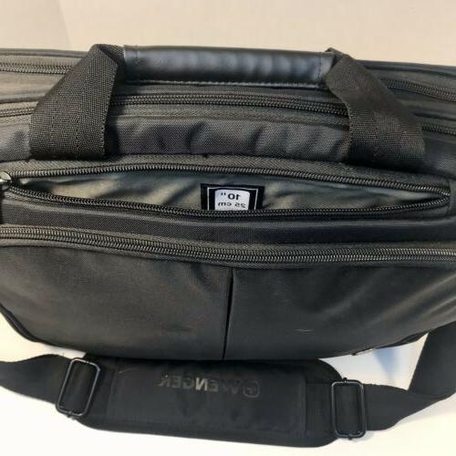Swiss Gear Laptop iPad Case Carrying Messenger