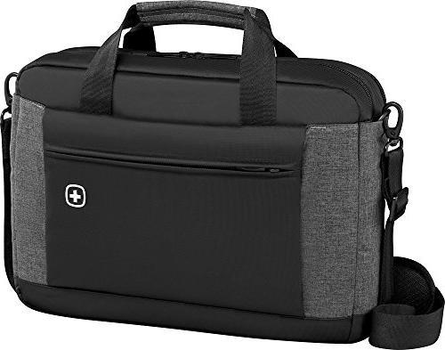 swissgear underground messenger briefcase