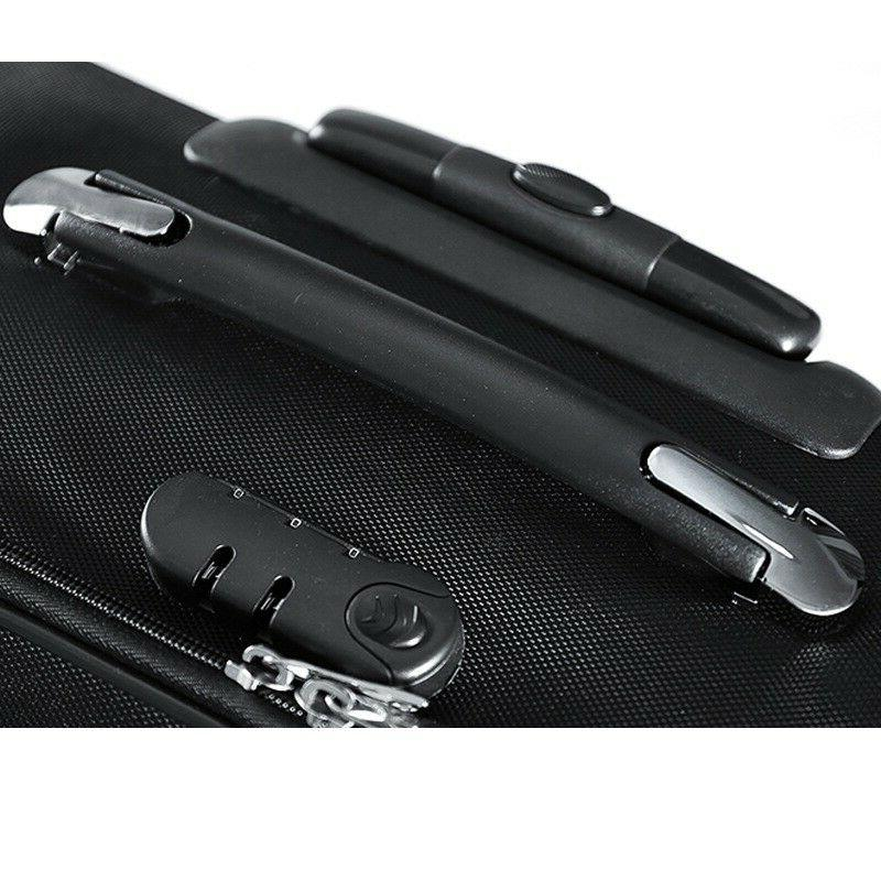 Travel Rolling Bag Case Briefcase Carry Laptop