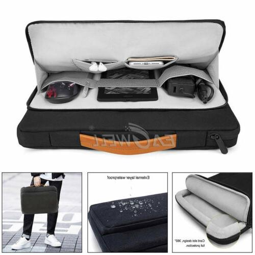 Universal Laptop Sleeve Case Hand Nylon Bag Pouch For 13'' 1