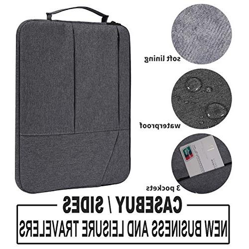 15.6 inch Premium Resistant Bag Handle Acer VivoBook, Lenovo, MSI, HP Protective Space Grey