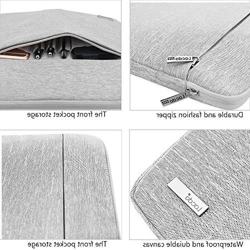 Lacdo Sleeve Case Compatible MacBook MacBook Air Surface Pro | Surface | Acer HP Toshiba Notebook Gray
