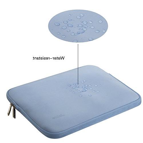 MOSISO Water Repellent Neoprene Sleeve Bag Cover Compatible 15-15.6 Inch MacBook Notebook Computer Case, Serenity