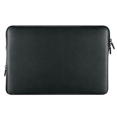 water resistant laptop sleeve leather case bag