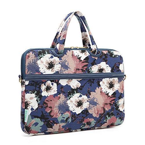 kayond Watercolor Canvas Fabric 14 Shoulder Bag