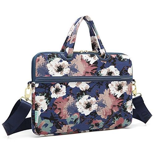 kayond Watercolor Orchid Canvas Fabric 14 Bag