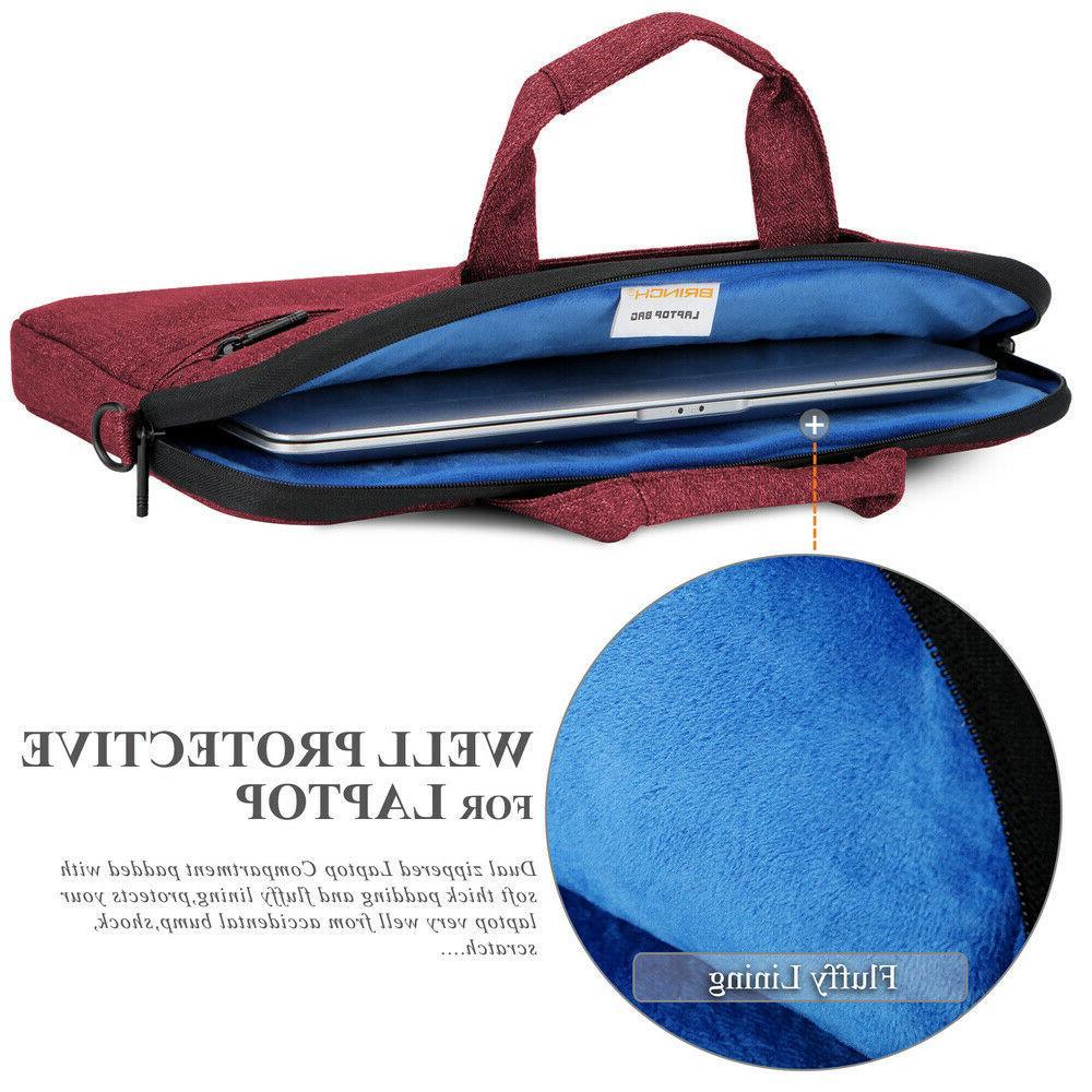 BRINCH Waterproof 13-14 Laptop Shoulder Bag