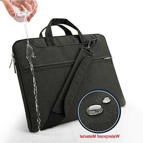 Lacdo Inch Fabric Bag Notebook Sleeve Case Compatible Macbook Pro / Protective ASUS Dell Inspiron Lenovo