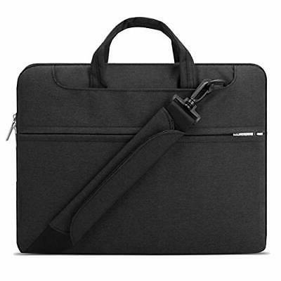 "Lacdo 12 Compatible 13"" Pro 2018 MacBook Air Retina A1932 New Macbook 11.6"" ASUS Dell HP Acer Samsung Chromebook, Black"