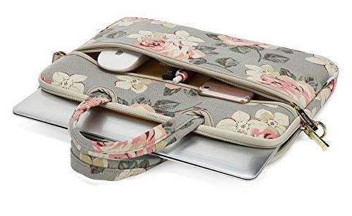 kayond White Rose Fabric14 Bag