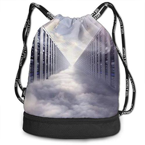 womens man cloud computing computer
