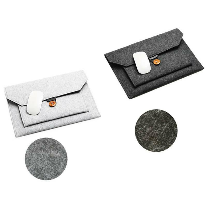 wool felt envelope sleeve laptop case bag