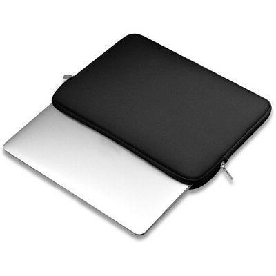 USA Black Neoprene Laptop Sleeve Bag Case Universal for All