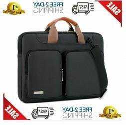 Lacdo 360° Protective Laptop Shoulder Bag Sleeve Case for 1