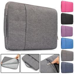 "Laptop Bag For Macbook 11""12""13""15""inch Sleeve Soft Zipper C"