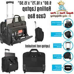 Laptop Bags With Wheels Briefcase Rolling Laptop Case 16 Inc