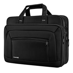 KOPACK Laptop Briefcase Expandable Large Capacity 15.6 Inch