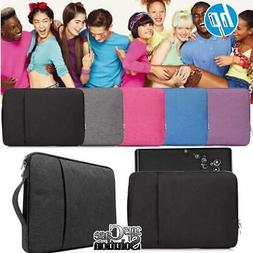 "Laptop Carry Pouch Sleeve Case Bag For 13 14"" 15"" HP Chromeb"