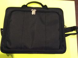 Laptop Carrying Case 16 Inch Black Computer/Notebook Bag Fit
